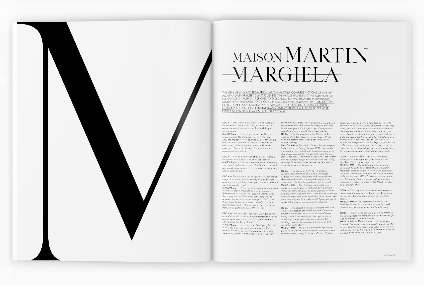 Manuel Astorga editorial design agency